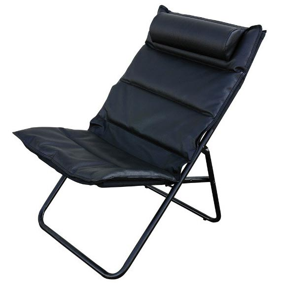 Manhattan FOLDING CHAIR BK 椅子 パーソナルチェアー アウトドアチェアー 折りたたみチェアー カウンターチェア