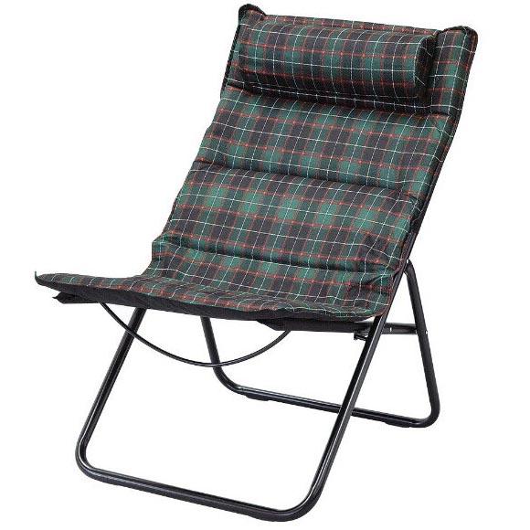 Manhattan Folding Chair Tartan Checked GREEN 椅子 パーソナルチェアー アウトドアチェアー 折りたたみチェアー カウンターチェア