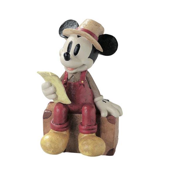 置物 オブジェ オーナメント ディズニー ミッキー キャラクター 小物 インテリア雑貨 ガーデニング 雑貨 ガーデンオーナメント オーナメント(ミッキー)トラベラー