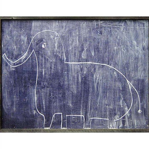 【送料無料】Sugarboo Sophie`s Elephant アート パネル ウッド 壁掛け 絵画 インテリア 美術品 かわいい おしゃれ 象 ゾウ