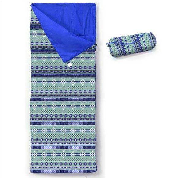 NATIVE PATTERNS シュラフ 寝袋 コンパクト 封筒型 洗える キャンプ おしゃれ かわいい ネイティブ