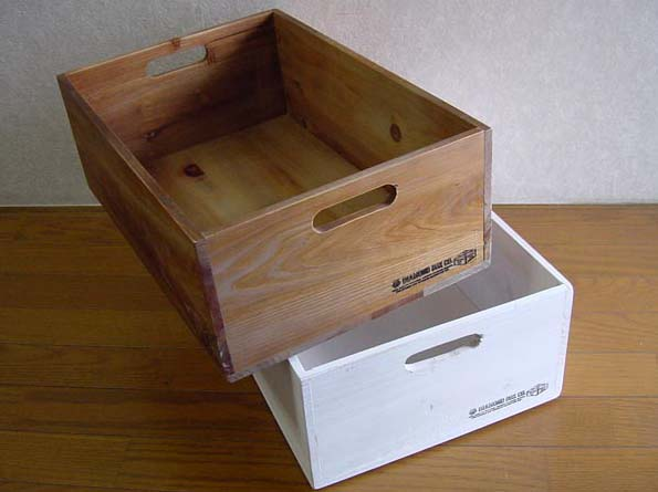 ?????? stylish storage boxes! In the Interior is recommended! Rustic standard box L & zakkaya free | Rakuten Global Market: ?????? stylish storage ...