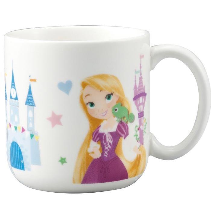 子供食器 マグカップ プリンセス ディズニー プリンセス ラプンツェル シンデレラ アリエル