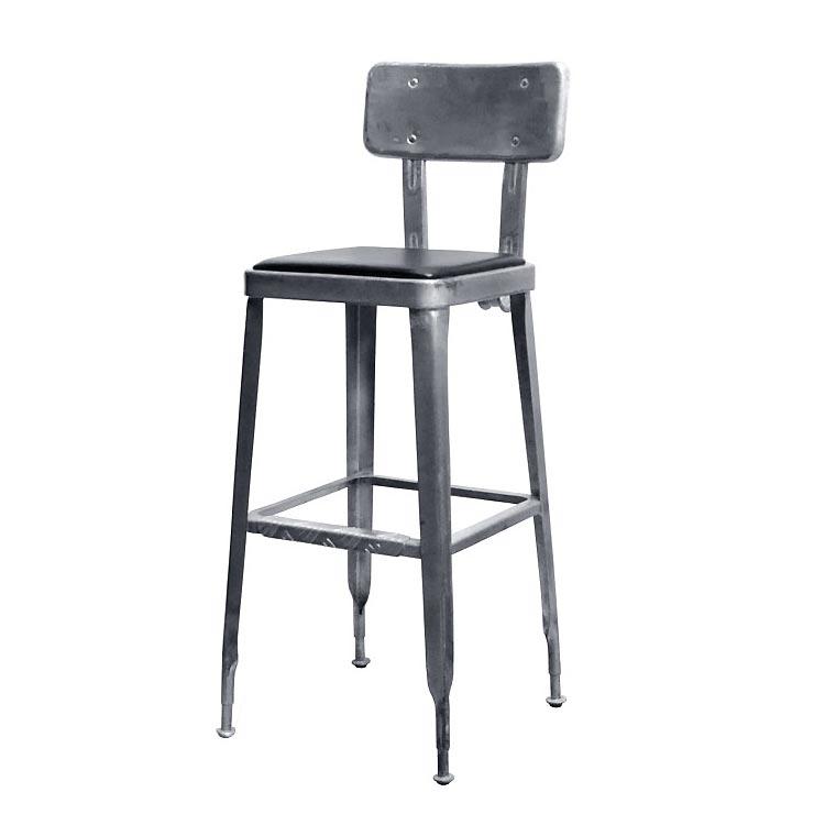 【送料無料】STANDARD BAR CHAIR H.D.GALVANIZED ダルトン DULTON 椅子 おしゃれ インテリア アンティーク レトロ ダイニングチェア カウンターチェア