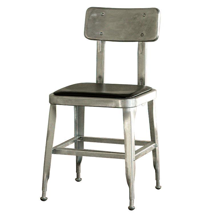 【送料無料】STANDARD CHAIR H.D.GALVANIZED ダルトン DULTON 椅子 おしゃれ インテリア アンティーク レトロ ダイニングチェア カウンターチェア
