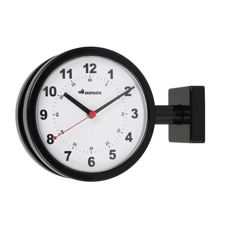 【送料無料】DOUBLE FACE CLOCK 170D BLACK ダルトン DULTON 掛け時計 壁掛け時計 おしゃれ 両面 アナログ