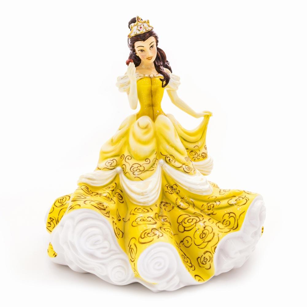 【送料無料】Belle Figurine ベル ディズニー プリンセス 美女と野獣 フィギュア 置物 人形 フィギア オブジェ