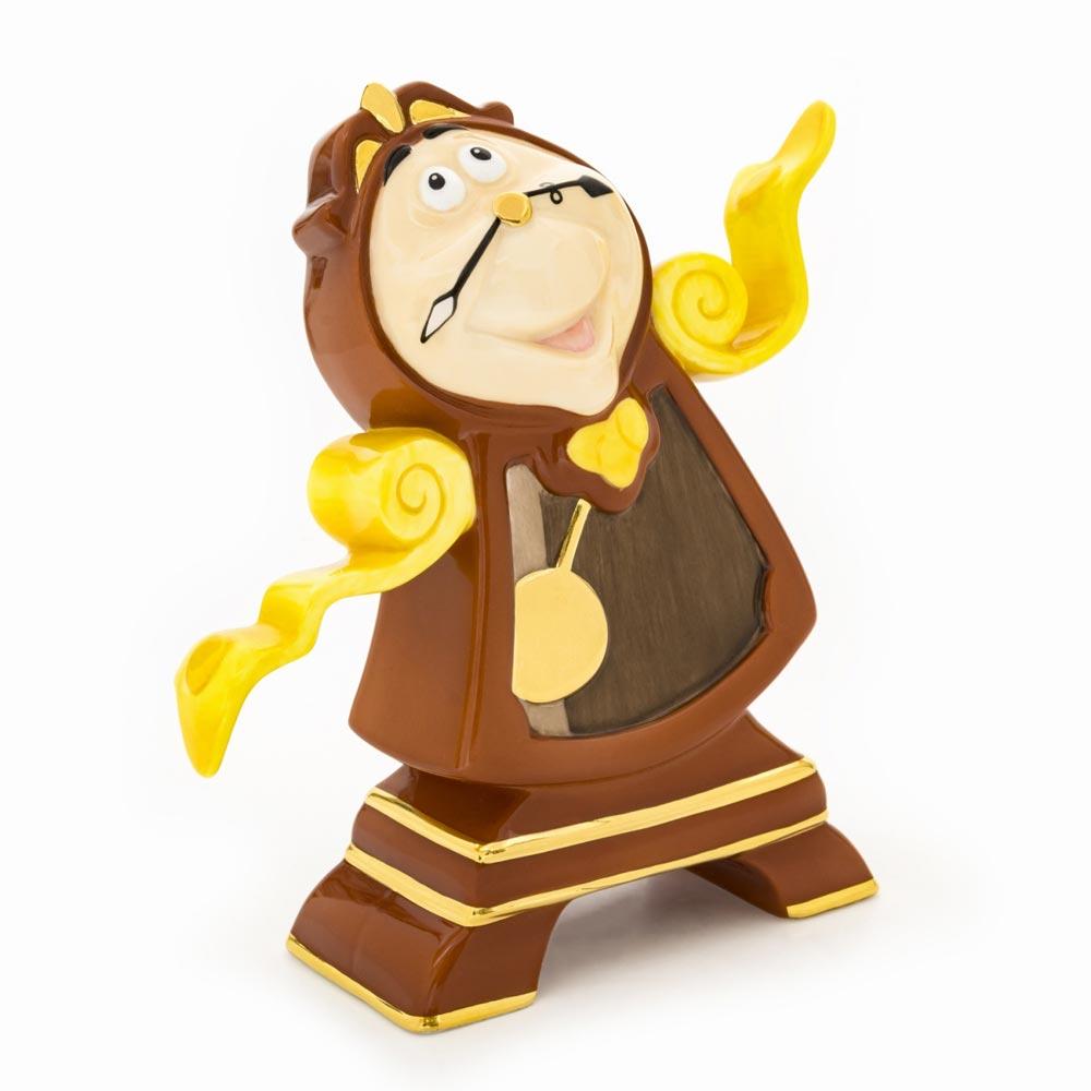 【送料無料】Cogsworth Figurine 美女と野獣 コグスワース ディズニー フィギュア 置物 人形 フィギア オブジェ