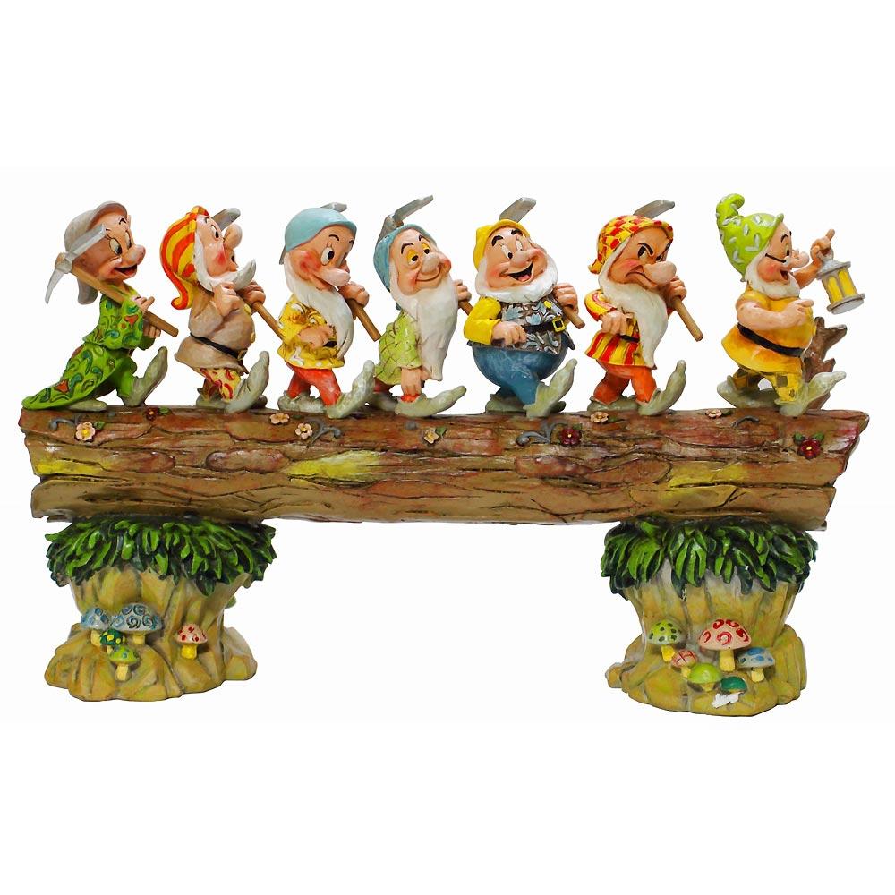 【送料無料】Howeward Bound 白雪姫 七人のこびと 七人の小人 ディズニー フィギュア 置物 人形 フィギア オブジェ