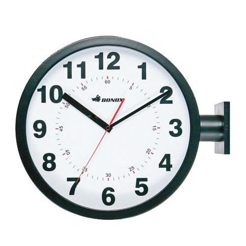 【送料無料】DOUBLE FACES WALL CLOCK BK ダルトン DULTON 壁掛け時計 おしゃれ アンティーク レトロ 両面 掛け時計 かわいい 時計 壁掛け ウォールクロック
