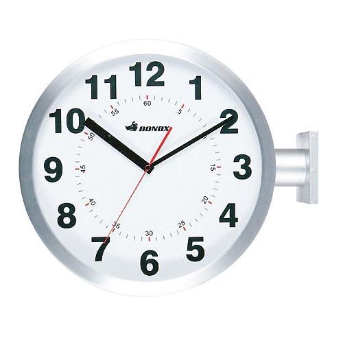 【送料無料】DOUBLE FACES WALL CLOCK SV ダルトン DULTON 壁掛け時計 おしゃれ アンティーク レトロ 両面 掛け時計 かわいい 時計 壁掛け ウォールクロック