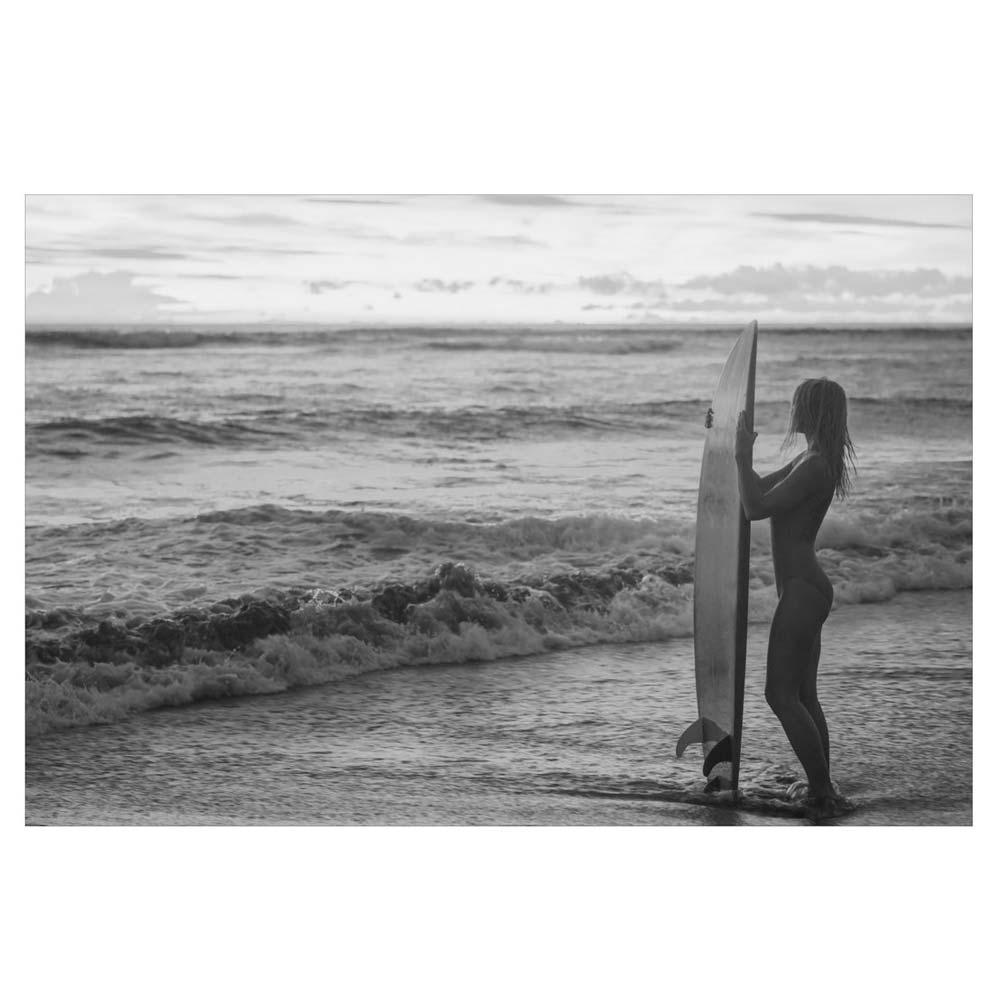 女 サーフィン ロコガール 自然 K 写真 サンライズ おしゃれ