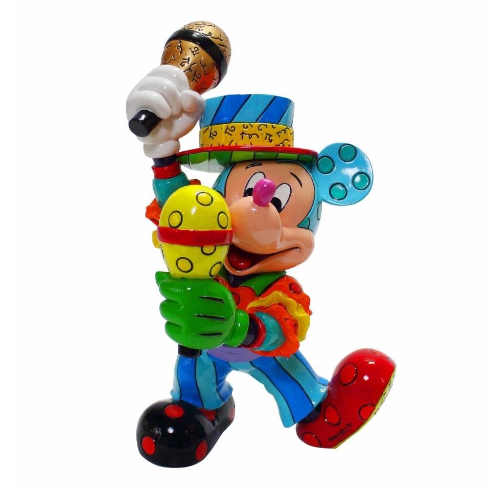 【送料無料】Mickey Mouse Samba ミッキーマウス ディズニー フィギュア 置物 人形 フィギア オブジェ
