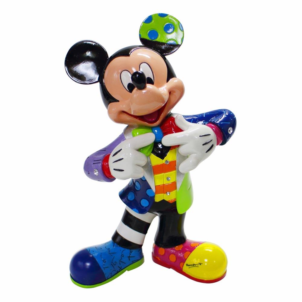 【送料無料】Disney Britto Mickey's 90th ミッキーマウス ディズニー フィギュア 置物 人形 フィギア オブジェ