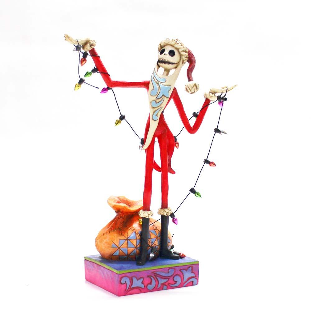 【送料無料】Disney Traditions サンタ ジャック ウィズ クリスマス ナイトメア クリスマス ディズニー フィギュア 置物 人形 フィギア オブジェ