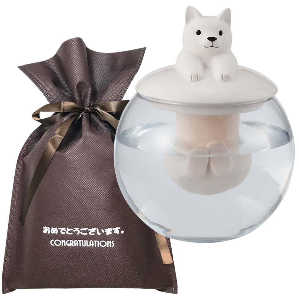 【送料無料】【おめでとうございますギフト】 ドーム型加湿器 ネコ【L】 おもしろ プレゼント 加湿器 雑貨 ユニーク 男性 おもしろグッズ 誕生日プレゼント 女性 ギフトセット