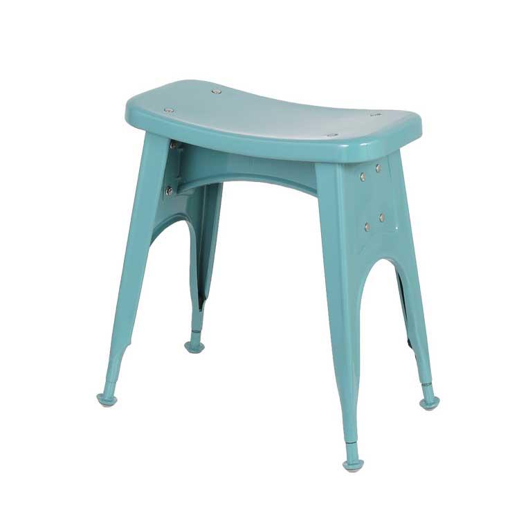【送料無料】KITCHEN STOOL GRAY GREEN ダルトン スツール コンパクト アンティーク 椅子 チェアー ブルー