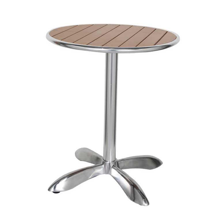 【送料無料】ALUMINUM CAFE TABLE RND LBR [PX] ダルトン テーブル 丸 小さめ テーブル 2人 丸テーブル カフェテーブル バーテーブル