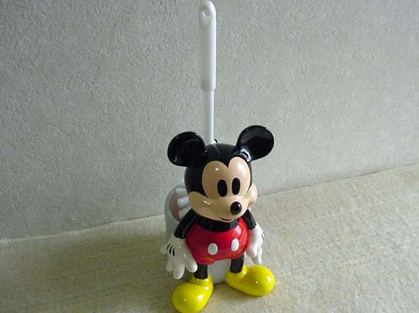 Mickey Mouse toilet brush toilet gadgets Disney