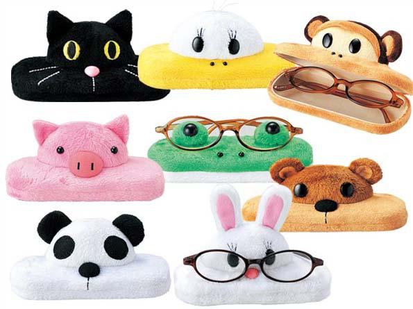 90d19aafae6 zakkaya free  Glasses case of cute stuffed animals! アニマルフェイス ...