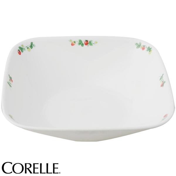 コレール スクエア大ボウル スウィートストロベリー ( 食器 お皿 おしゃれ 可愛い CORELLE )