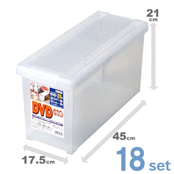 (18個セット) 天馬 DVDいれと庫