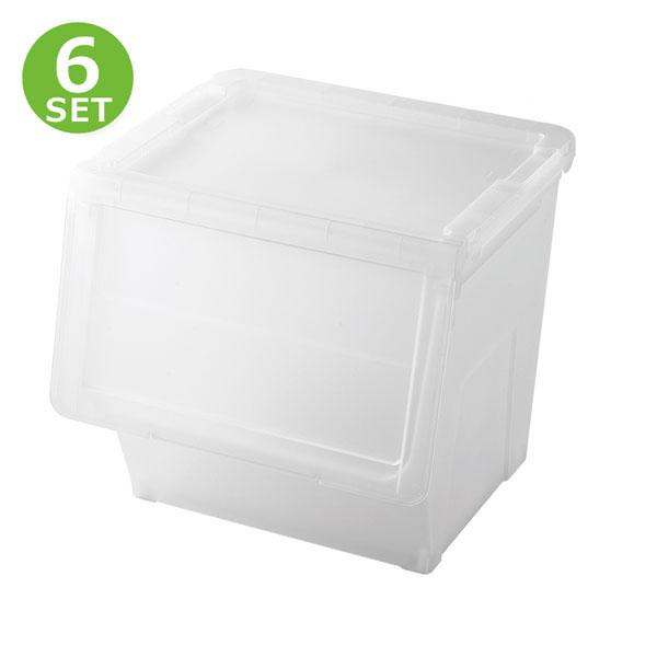 6個セット 収納ケース 収納ボックス 天馬 プロフィックス カバコL ( 積み重ね 衣装ケース 多目的収納 カラーボックス インナーボックス リビング キッチン ランドリー 子供部屋 クローゼット )