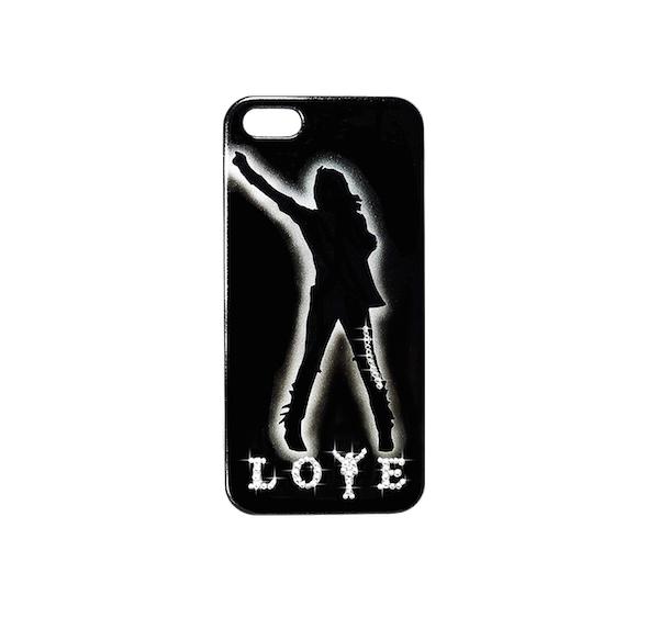 【スワロフスキー使用】MJオフィシャルライセンス認定iPhone6用(4.7インチ)ケース「MJ LOVE コレクション3」【マイケル・ジャクソン】