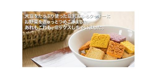美味しい豆乳おからクッキー 野菜MIXセット