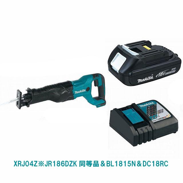 XRJ04Z(緑)&BL1815N&DC18RC マキタ充電式レシプロソー JR186DZK同等品 18V MAKITA USA モデル