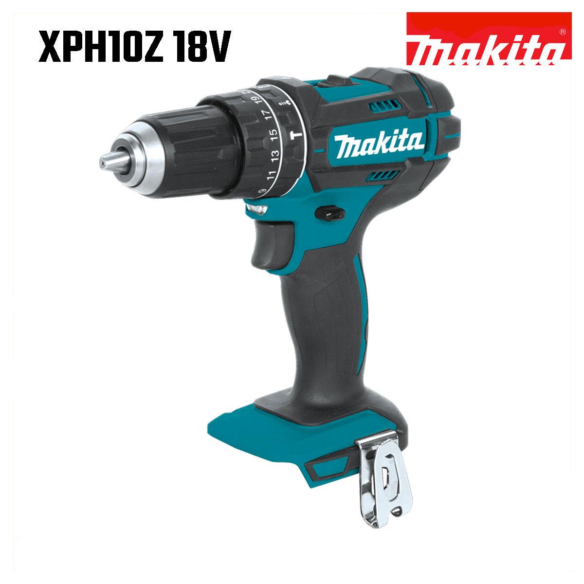 マキタ 振動ドリル ドライバー 18V 充電式 MAKITA XPH10Z 青 純正 XPH01後継機※本体のみ