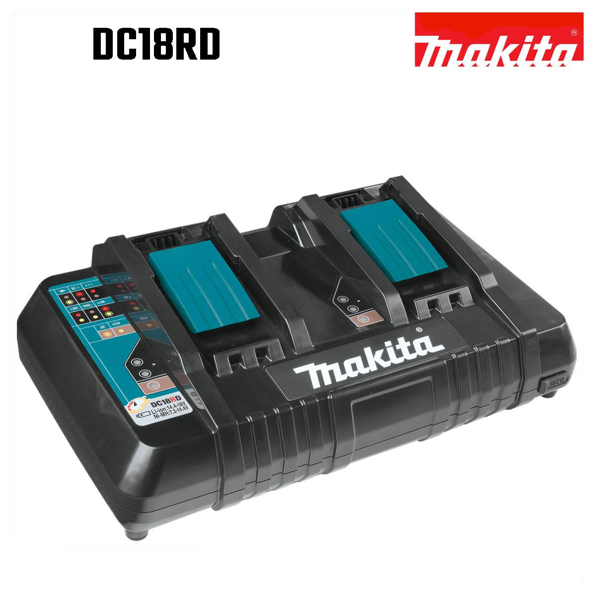 DC18RD 純正 マキタ MAKITA 本物 二個同時急速充電 冷却システム オートメンテナンス機能 7.2~18V