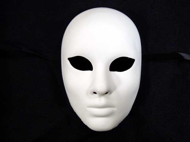 ベネチアのマスケラ FACE 女性無垢オリジナルな仮面を手作りできます