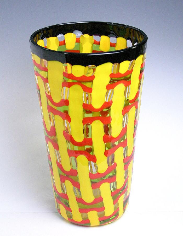 【送料無料】ベネチアンガラスの花器 E   【YDKG-td】