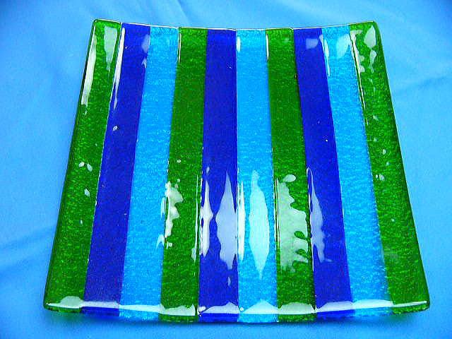 ベネチアンガラス プレートB