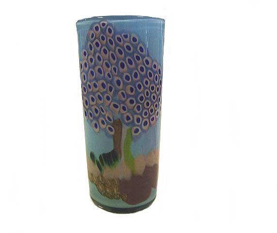 【送料無料】ベネチアンガラスの花器 H   【YDKG-td】