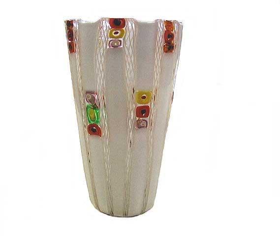 【送料無料】ベネチアンガラスの花器 F   【YDKG-td】
