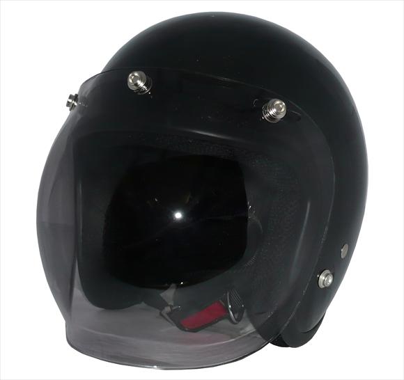 ポイント3倍!ZK-380スモールジェット【ガンメタ】+スモークバブルSG公認 PSC認可 全排気量対応盗難防止金属ホルダーヘルメット+シールド2点セット