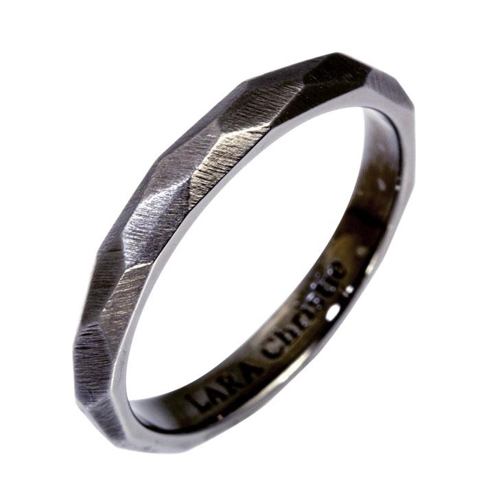 リング 指輪 メンズ リング メンズ LARA Christie (ララクリスティー)ネイキッド リング 指輪[ BLACK Label ] シルバー リング メンズ クリスマス プレゼント