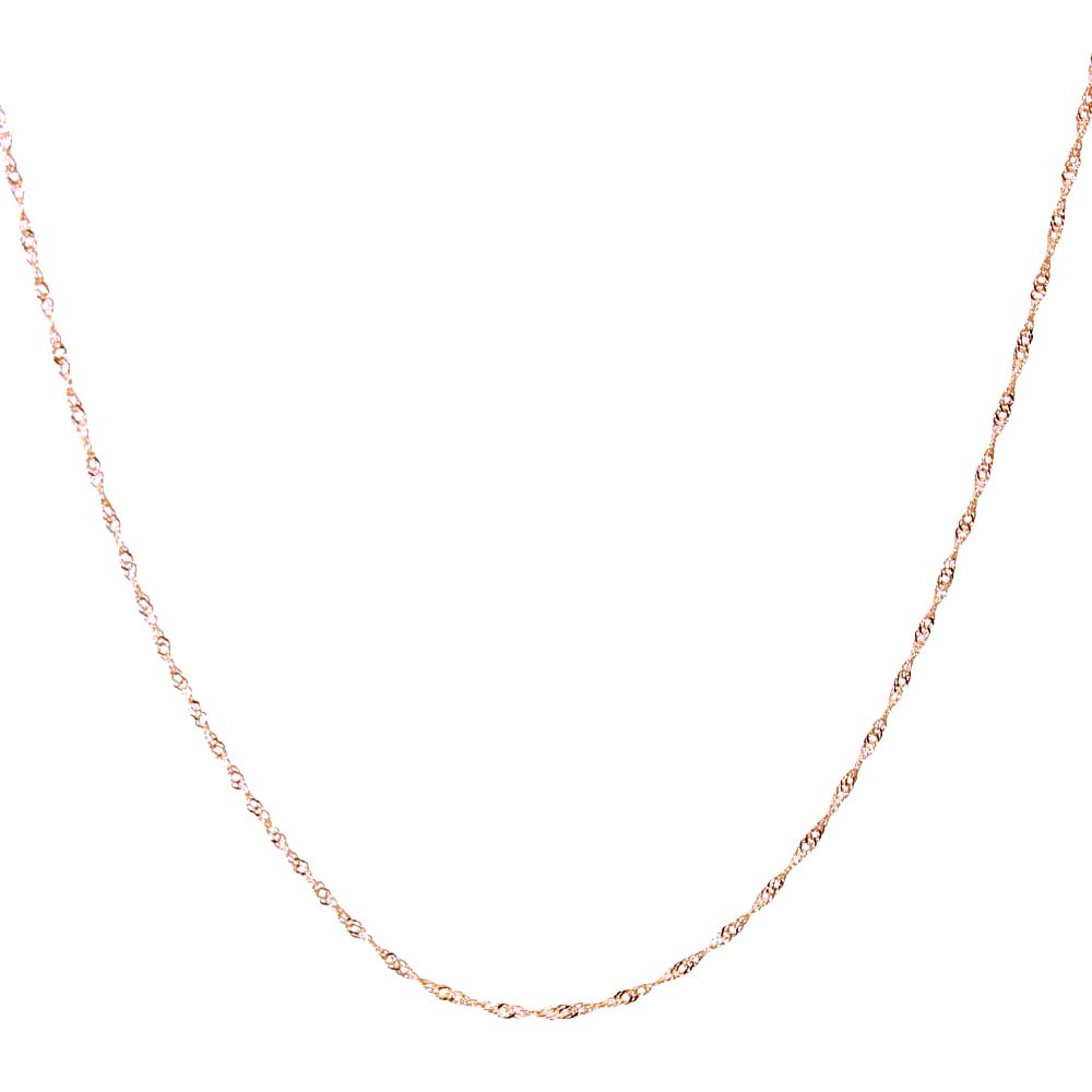 K10PG ピンクゴールドチェーン ダブル スクリューチェーンk10 ネックレス スクリュー レディース ネックレス 女性 クリスマス プレゼント