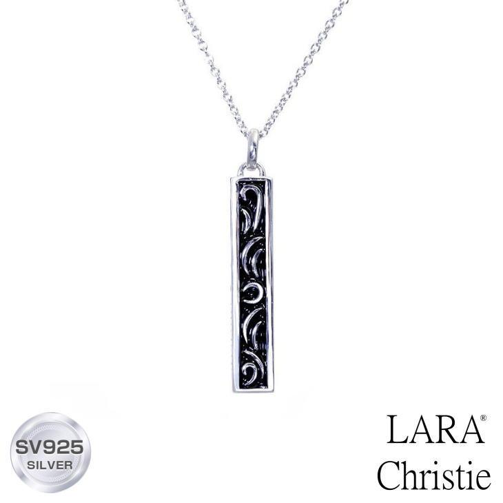 ネックレス メンズ LARA Christie (ララクリスティー)セイントグラス ペンダント[ BLACK Label ] シルバー ネックレス メンズ 誕生日プレゼント クリスマス プレゼント