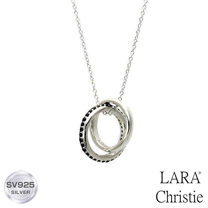 ネックレス メンズ LARA Christie (ララクリスティー)メビウス ネックレス[ BLACK Label ] シルバー ネックレス メンズ ネックレス 父の日ギフト 父の日プレゼント