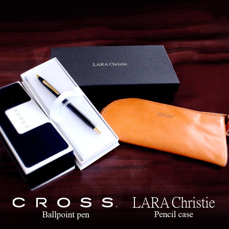 CROSS(クロス) クラシックセンチュリー2502 LARA Christie ララクリスティー ペンケース 本革 ll74-2502
