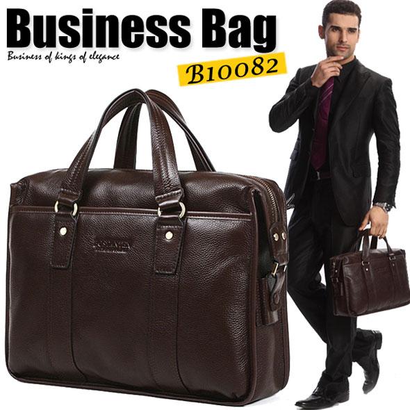 【送料無料】【A4サイズ対応】本格高級感抜群 ビジネスバッグ ショルダーベルト付き 通勤用 ビジネスシーンにも カジュアルにも