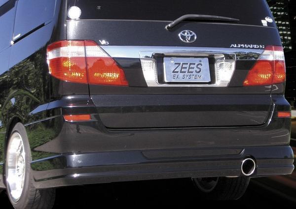 【ZEES Premium HF】ANH10W/ANH15W/MNH10W/MNH15Wアルファード【スタンダード:ハーフステンレス】