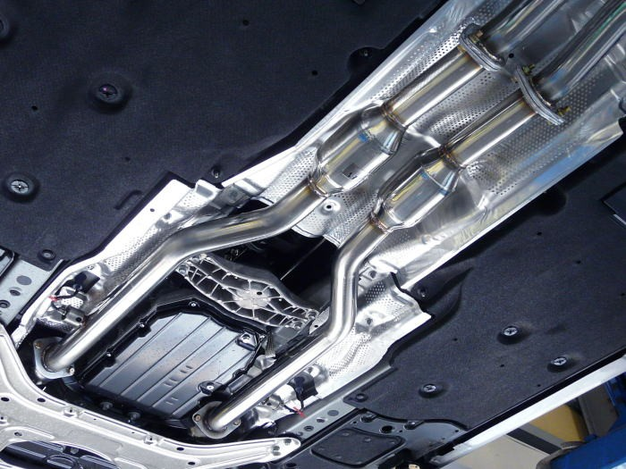 ZEES スポーツ触媒付きフロントパイプUVF45/UVF46レクサスLS600h/LS600hL