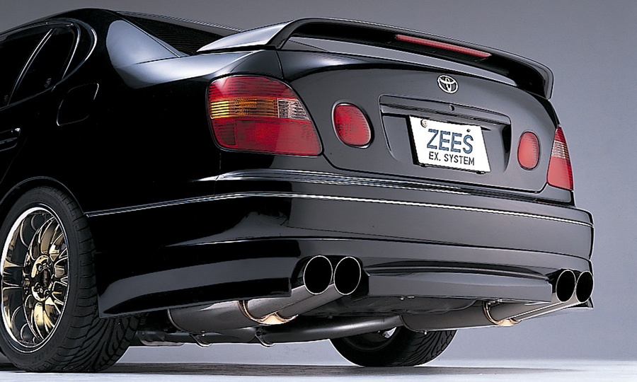 トヨタ アリスト JZS161/JZS160 ZEES CYBER EX 用リアアンダースポイラー