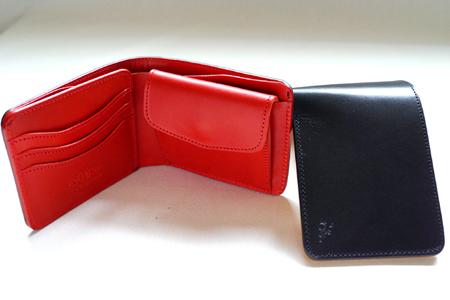 革蛸謹製 TAKOショートウォレット BLACK/RED 【smtb-td】【saitama】