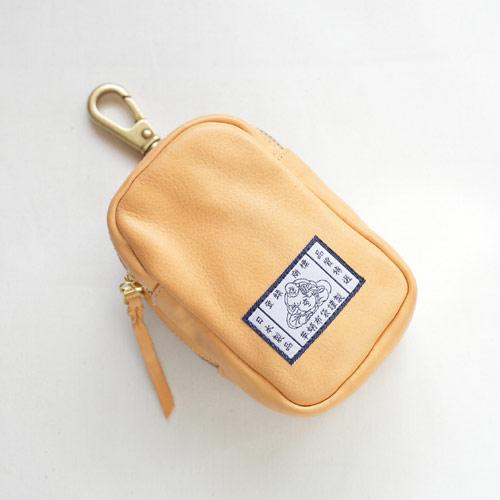 【革蛸布袋謹製】布袋のベルトポーチ ナチュラルボックス【smtb-td】【saitama】