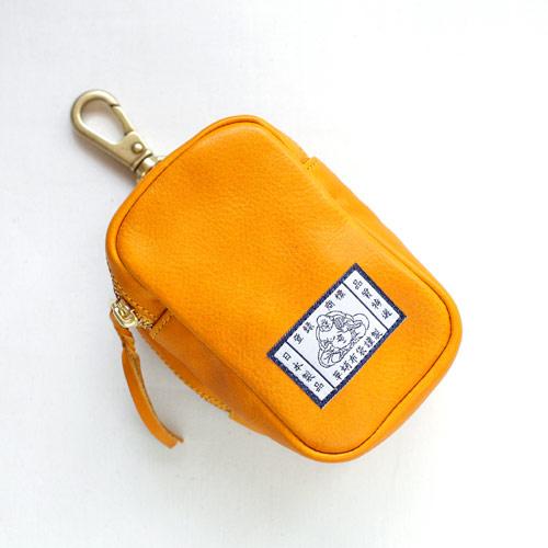 【革蛸布袋謹製】布袋のベルトポーチ イエローボックス【smtb-td】【saitama】